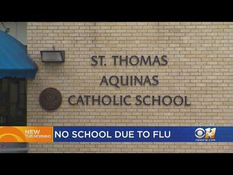 St. Thomas Aquinas Catholic Schools Closes Due To Flu Concerns