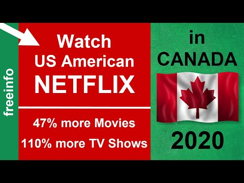 Get US American Netflix In Canada (2020 Proof!)