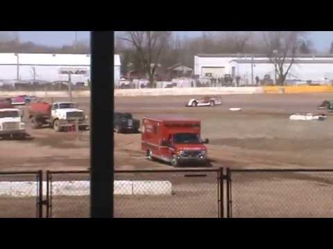 WDLMA Late Model Heat 2 Seymour Speedway 4/4/15