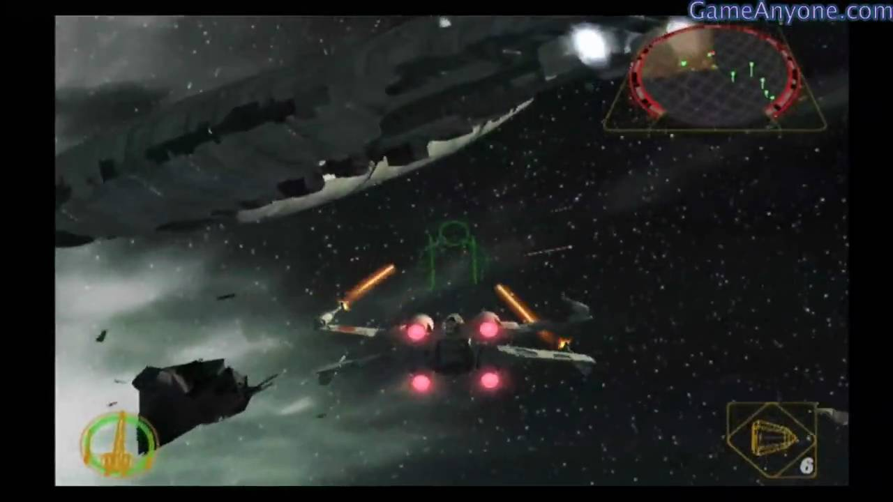 Let's Play - Star Wars Rogue Squadron II [2]: Rogue Leader - Mission 3 -  Ison Corridor Ambush
