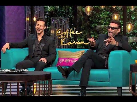 Koffee With Karan Season 5 - Tiger Shroff And Jackie Shroff