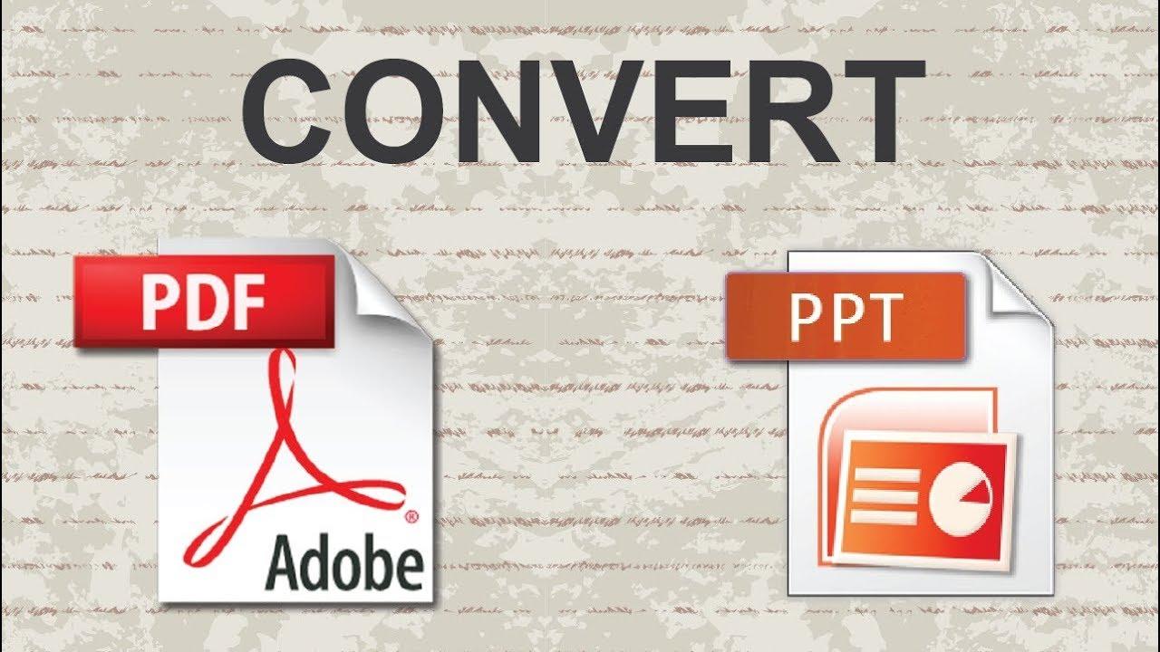 تحويل ملف بوربوينت Powerpoint الى Pdf بدون برامج Youtube