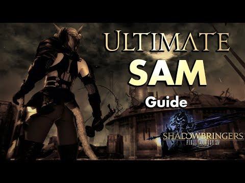 Samurai/SAM - Guide For Beginners | Final Fantasy XIV: Shadowbringers