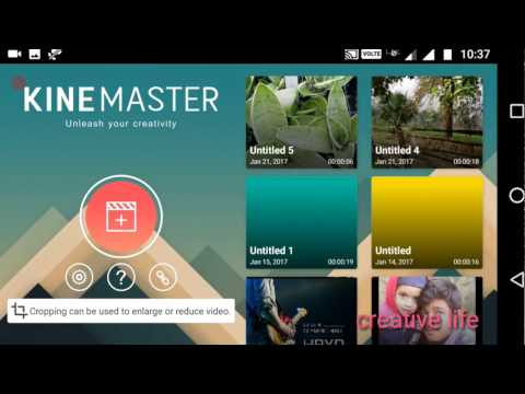 kinemaster video layer support  no root| display banner logo removal |