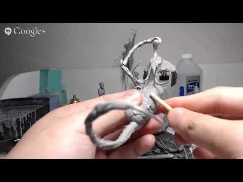 Original Creature Sculpture