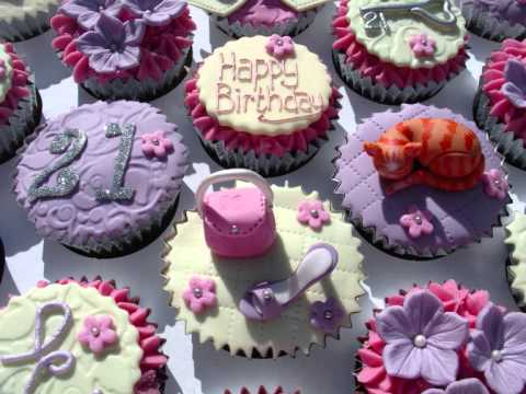 21st Birthday Cupcakes Youtube