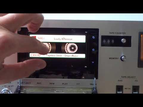 Palladium vintage deck as digital music player - Tapeless Deck Project