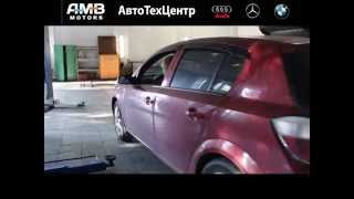 АвтоТехЦентр AMB-Motors: замена ламп ближнего света на Opel