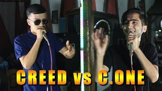 Баттлери Сол 2018, C.One vs. Creep (RAP.TJ)