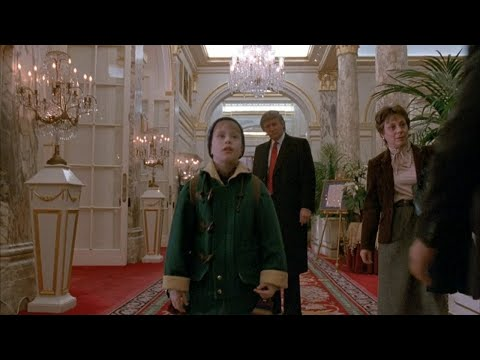 Kristina Kage - President Trump Reacts to Being Cut From 'Home Alone 2'