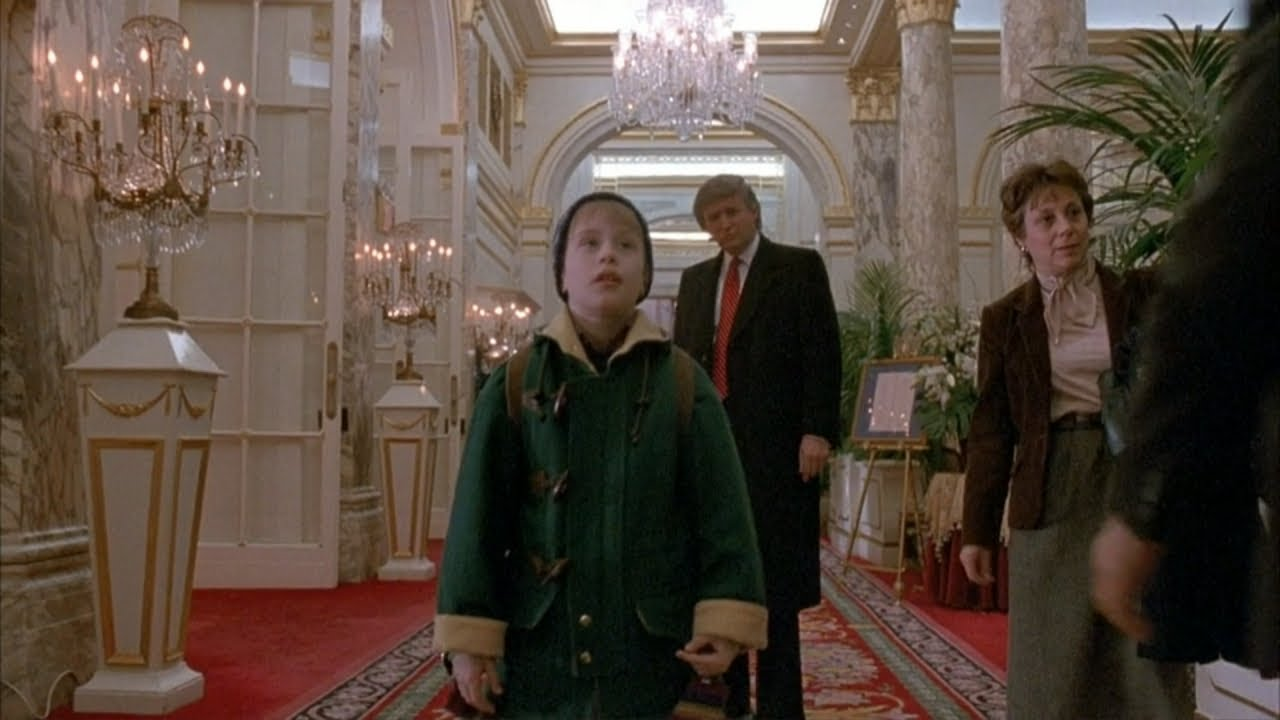 President Trump Reacts to Being Cut From 'Home Alone 2 ...