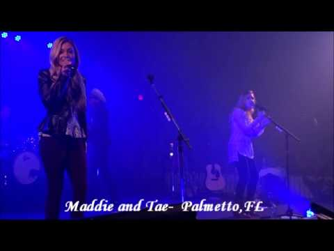 Maddie and Tae - Downside Of Growing Up - Manatee County Fair