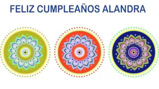 Alandra   Indian Designs - Happy Birthday