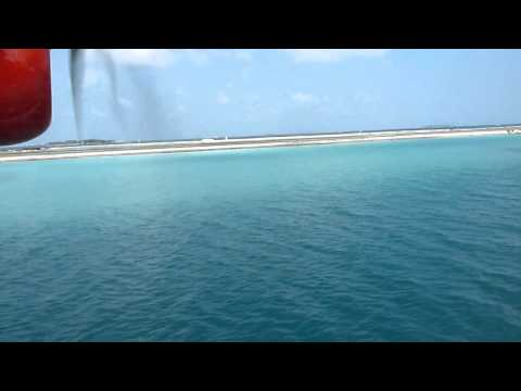 maldives air taxi take off HD