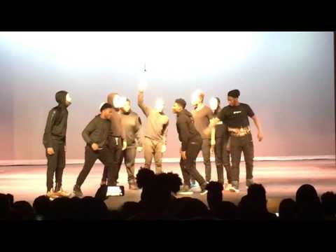 Team Action's live performance at the Union High School Fashion show