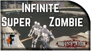 Infestation New Z - INFINITE SUPER ZOMBIE - Best Sniper Farming - NewZ is Free on Steam
