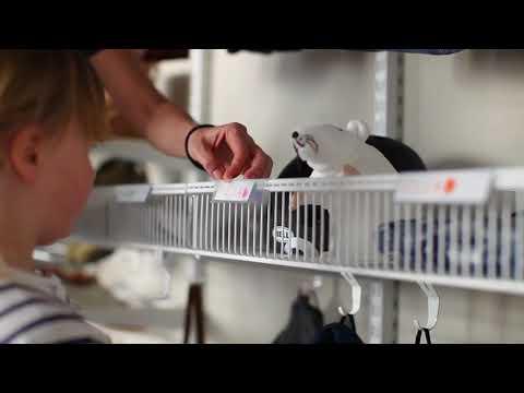 Модули для хранения вещей в гардеробной