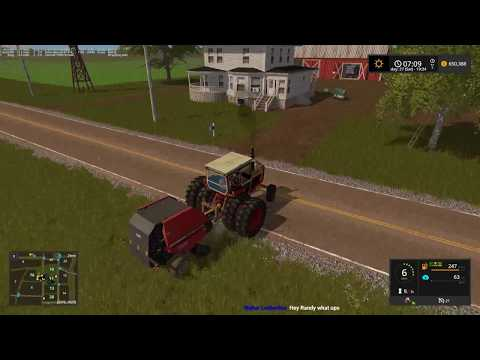 MONSTER WINDROWS!  Farming Simulator 17 Grand Prairie Live Stream 09 12 17