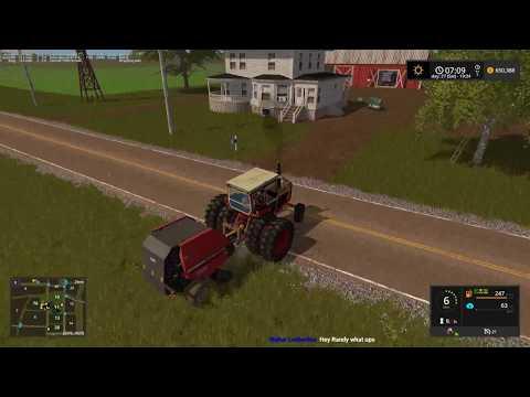 MONSTER WINDROWS!  Farming Simulator 17 Grand Prairie Live Stream 09 12 17