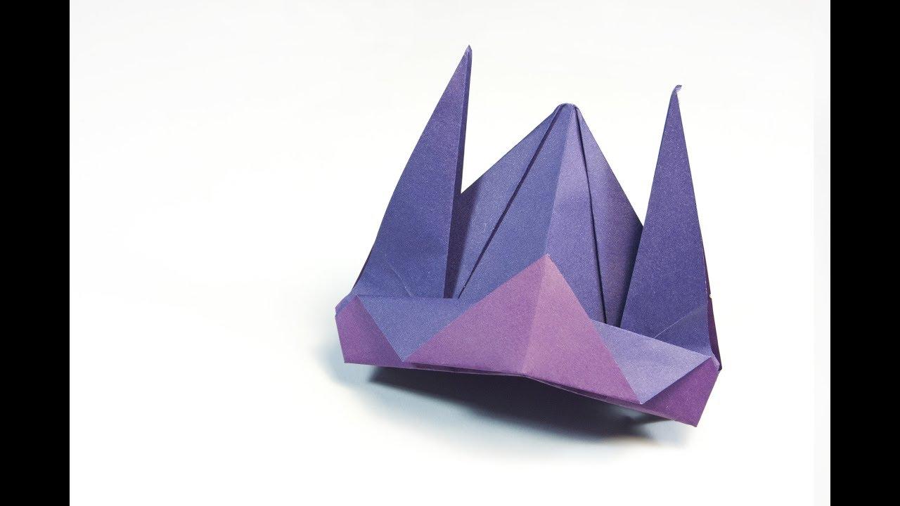 Origami Samurai Helmet | 720x1280