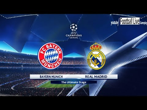 PES 2018   Bayern Munich vs Real Madrid   UEFA Champions League (UCL)   Gameplay PC