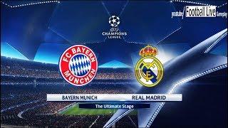 Pes 2018 | bayern munich vs real madrid | uefa champions league (ucl) | gameplay pc