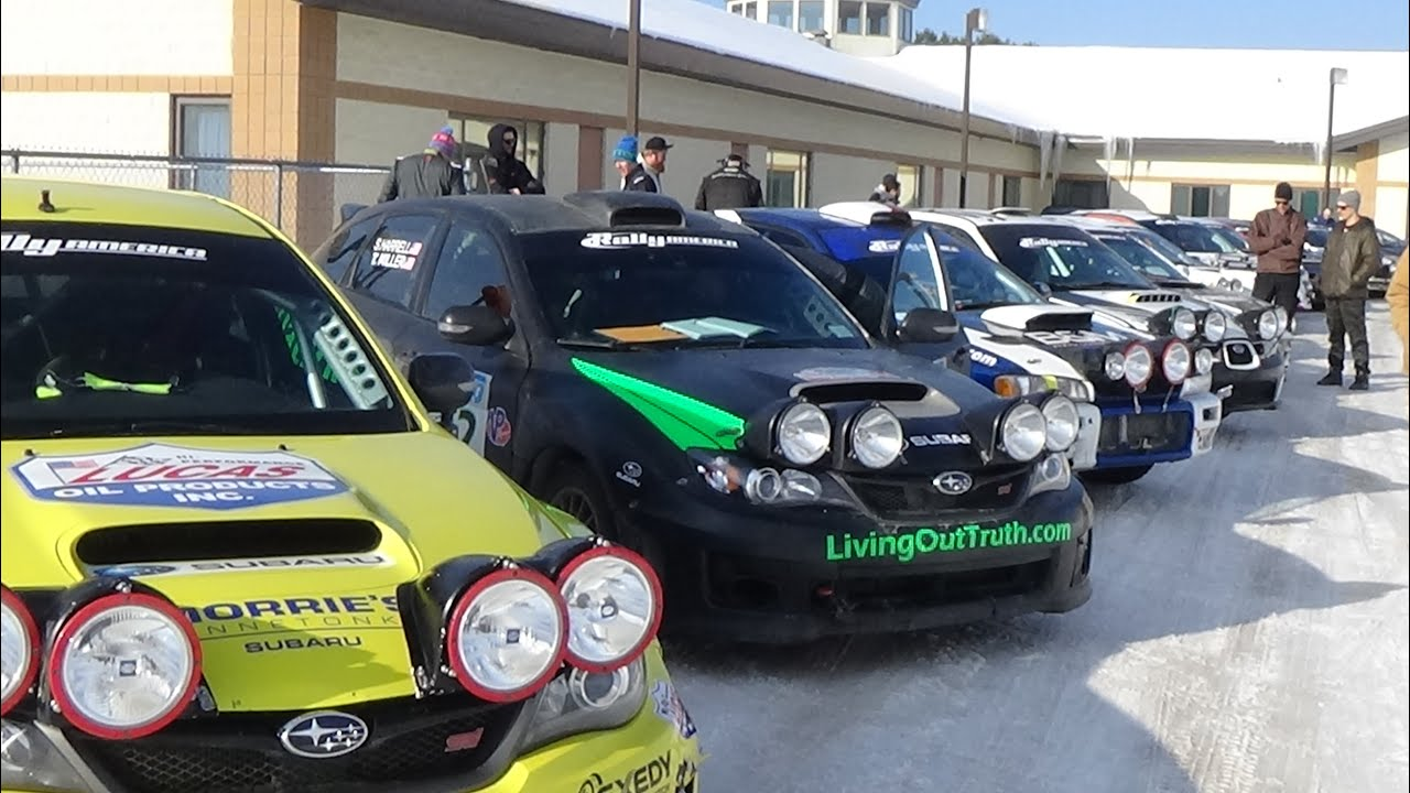 Sno Drift Rally America Rally Racing Cars And Drivers