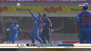 IND vs ENG | ODI - 3 | England Batting - Highlights