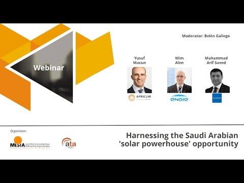 WEBINAR: Harnessing the Saudi Arabian 'solar powerhouse' opportunity