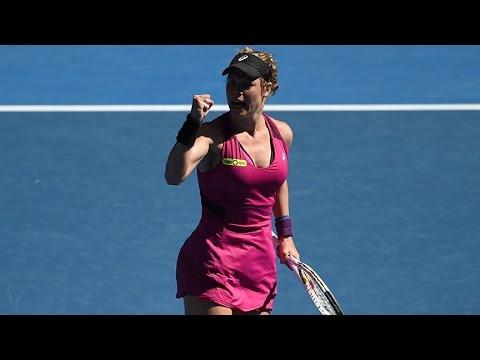 Jelena Jankovic v Laura Siegmund highlights (2R) | Australian Open 2016