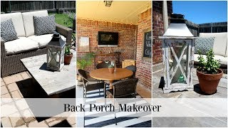 Back Porch Makeover | Summer Family Fun Series #1