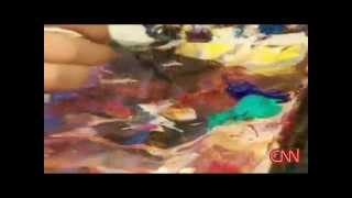 12 Year Old Child Prodigy Akiane Visits Then Paints Heaven | An Authentic Story