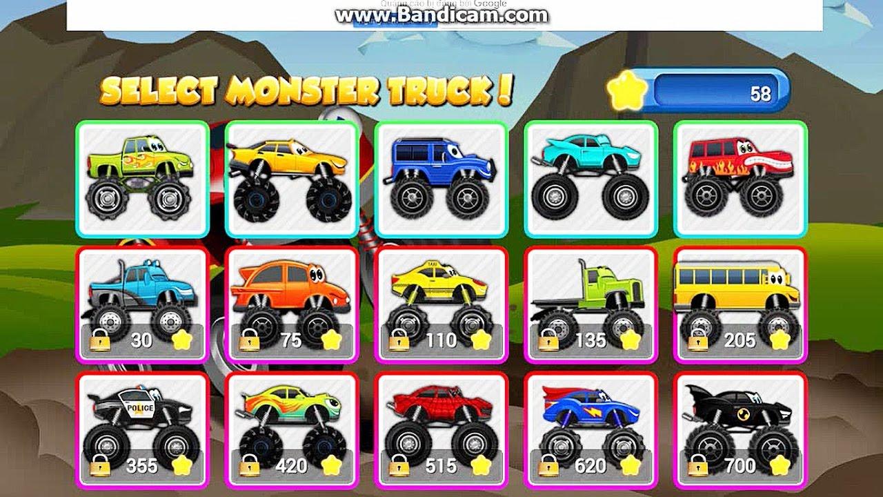 truck games online baby