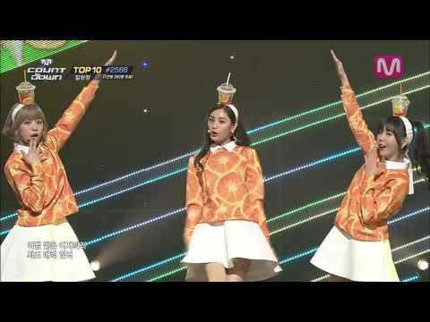 오렌지캬라멜_까탈레나 (Catallena by Orange Caramel of M COUNTDOWN 2014.4.10)
