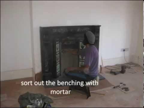 victorian fireplace restoration / installation