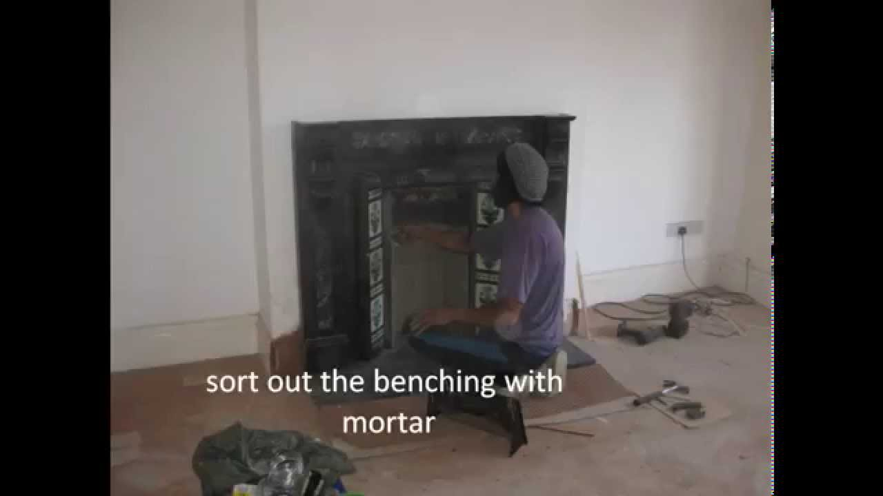 Victorian fireplace restoration installation youtube Victorian fireplace restoration