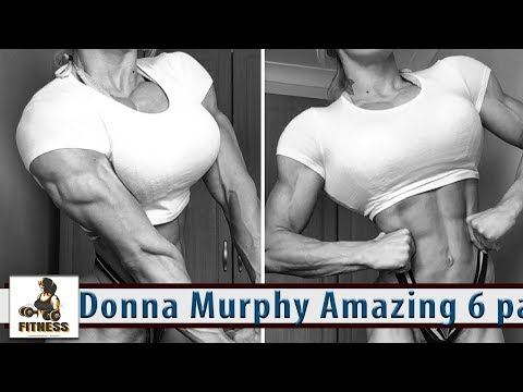 Donna Murphy Amazing 6 packs fitness model You Are Stronger than You Think