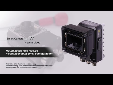FHV7 How-to Video : Mounting the lens + lighting module