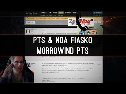 The PTS & NDA fiasko - Morrowind PTS