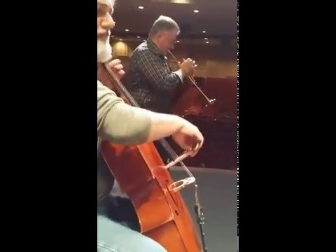 "LAStudioTrumpetSolos #38 - David Washburn's trumpet solo on the ""Brandenburg 2nd Concerto"""