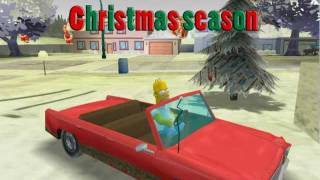 The Simpsons Hit & Run - Christmas Season TRAILER