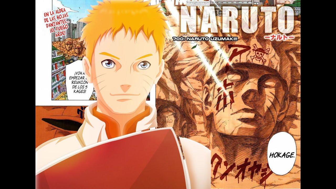 Naruto 700 El Final Ha Llegado El Septimo Hokage Youtube