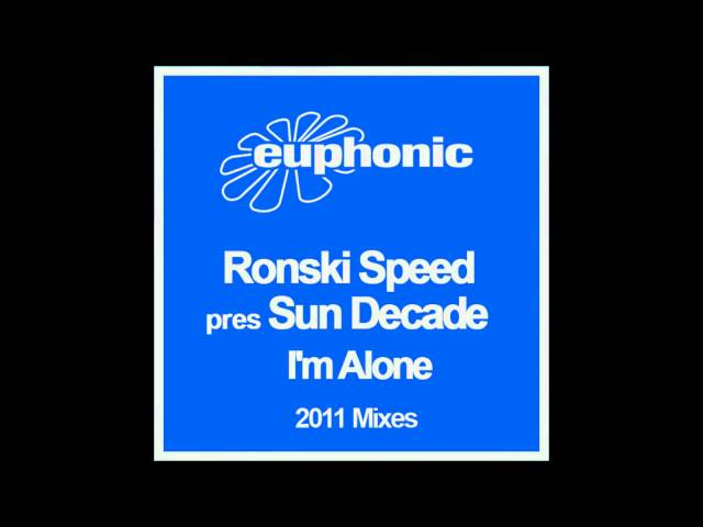 Ronski Speed pres. Sun Decade - I'm Alone 2011 (preview trailer)