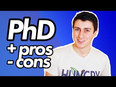 Pros and cons of doing a PhD (personal experience)