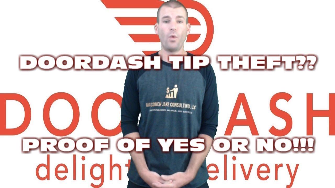 doordash stealing drivers tips