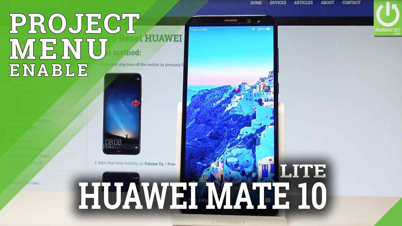 Project Menu HUAWEI Mate 10 Lite - Hidden Mode / Secret Menu