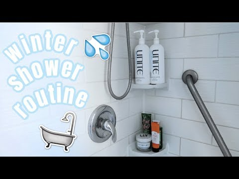 winter-shower-routine-for-dry-skin!!