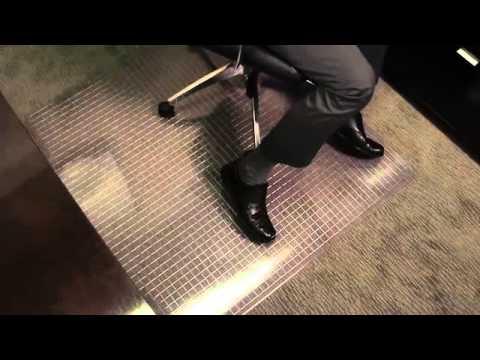 Crystal Pane Chair Mat