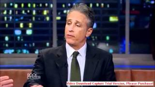 "Jon Stewart Interviewed by Brian Williams on ""The Rock Center"" Premiere"