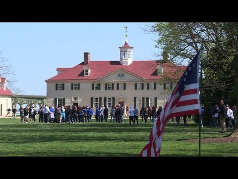 Mount Vernon, a symbol of Franco-American friendship